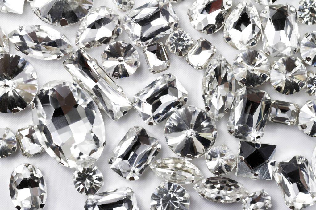 Piezas de cristal únicas e incomparables